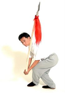 Picture of Kung fu Spear w/ Tassel Hair