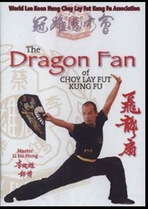 Picture of Dragon Fan of Choy Lay Fut Kung Fu- dvd