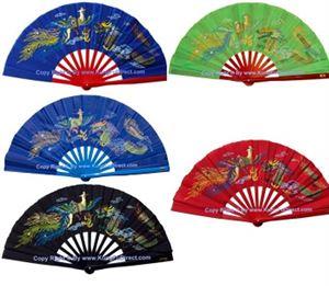 Picture of Tai Chi Dragon & Phoenix Fan