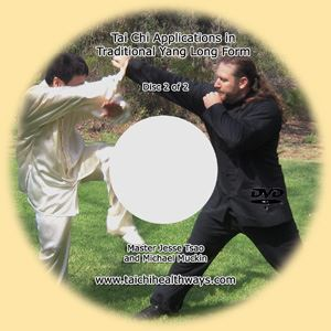 Picture of Tai Chi Application in Traditional Yang Style Long Form dvd