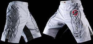 Picture of Hayabusa White Mizuchi Fight Shorts