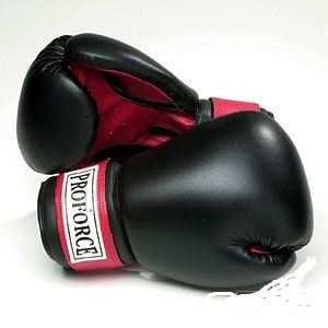 Picture of ProForce Leatherette Boxing Gloves w/Red Palm