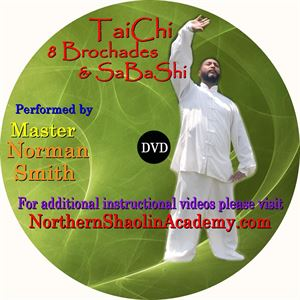 Picture of 8 Piece Brocades & SaBaShi Qigong- DVD