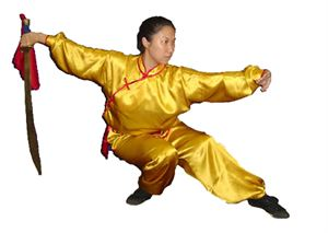Picture of Female Kung Fu Uniform - Satin Silk