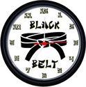 Picture of Black Belt Wall Clock