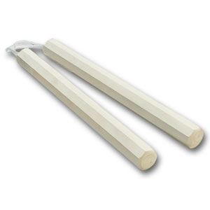 Picture of White Wax Octagon Corded Nunchaku