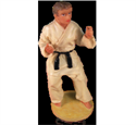 Picture of Martial Arts Boy Cake Topper