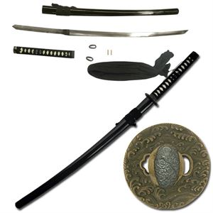 Picture of Full Tang Oriental Katana- Black