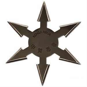 Picture of 6 Point Black Ninja Star