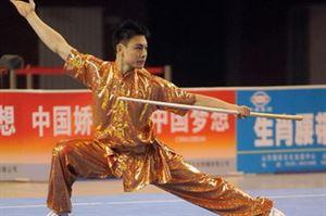 Picture of Wushu Cudgel - Wax wood Staff