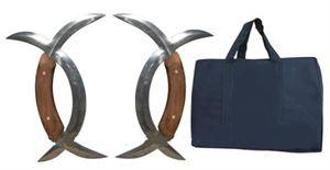 Picture of Deer Horns - Damascus Steel