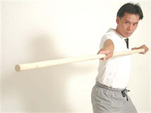 Picture of Traditional Wax Wood Staff