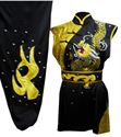 Picture of Southern Kung fu Uniform with Golden Dragon Embroidery