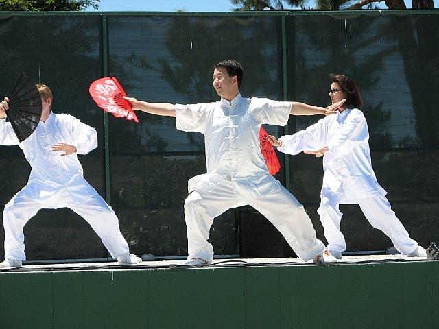 Kung Fu Fighting Fan
