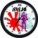 Picture of Ninja Wall Clock
