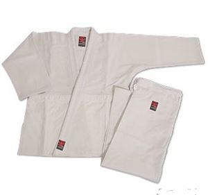 Impact Double Weave Judo Uniform - White