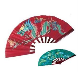 Picture of Bamboo Dragon Fighting Fan-Kids
