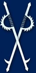 Picture of Double Nine Teeth Hooks Sword