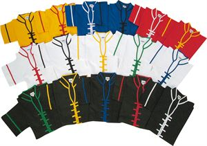 Picture of Kung fu V-Neck Tops w/ Collar