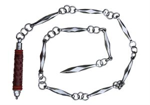 Picture of Traditional Heavy Chain Whip- Stainless Steel