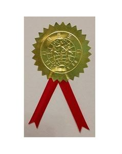 Picture of Gold Seal for WTF Certificates