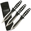 Picture of Two Tone Throwing Knives Set of 3