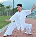 Picture of Tai Chi Raw Silk Uniform -Short Sleeves