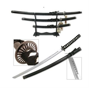 Picture of Traditional Spoke Guard Black Swords set of 3