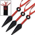 Picture of Kunai Warrior Knives Set of 3