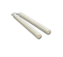 Picture of White Wax wood Corded Octagon Nunchaku