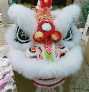 Picture of Chinese Southern Lion Head -White