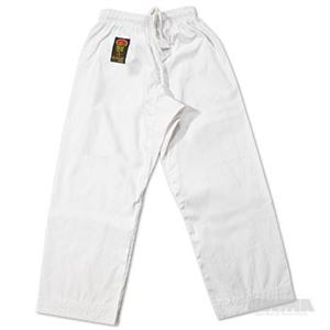 Picture of Gladiator 6 oz. Karate Pants – White