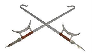 Picture of Combat Steel Tiger Head Hook Swords