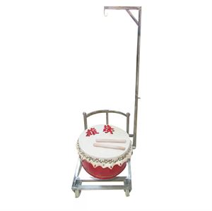 Picture of Chinese Lion Drum Stand with Adjustable Handle